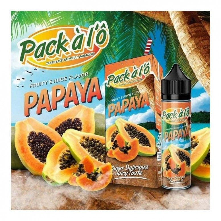 Papaya - 50ml - Pack À l'Ô