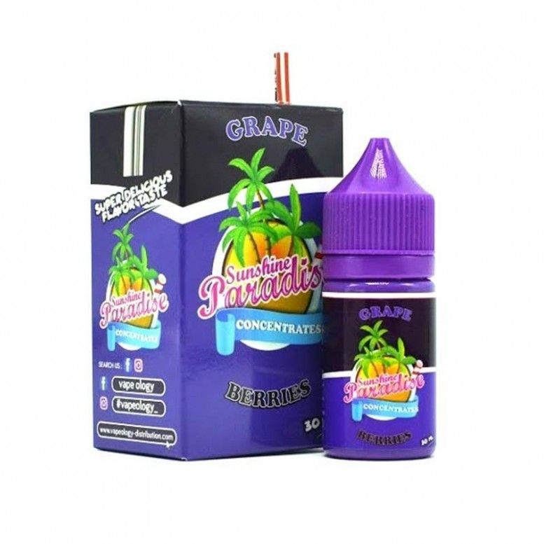 Grapes Berries - 30ml - CONCENTRE Sunshine 84 Paradise