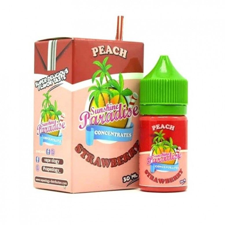 Peach Strawberry - 30ml - CONCENTRE Sunshine 84 Paradise