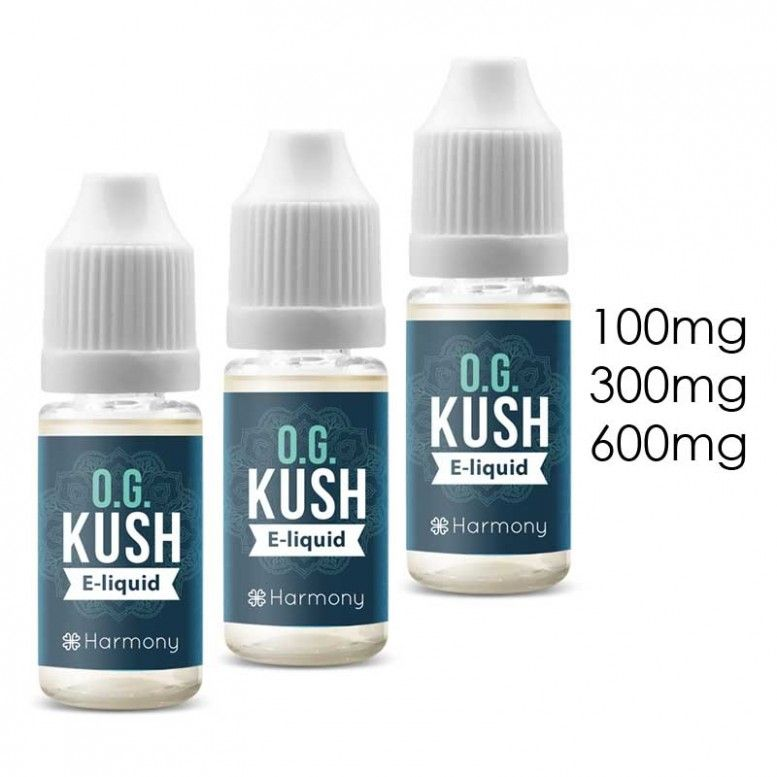 OG Kush - 10ml - 100mg/cbd - Harmony