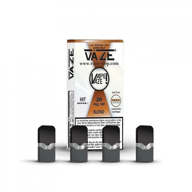 Blond - Cartouches x4 - Vaze